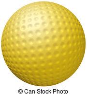 Golf Ball clipart colored Ball Hot Stock ball Gold