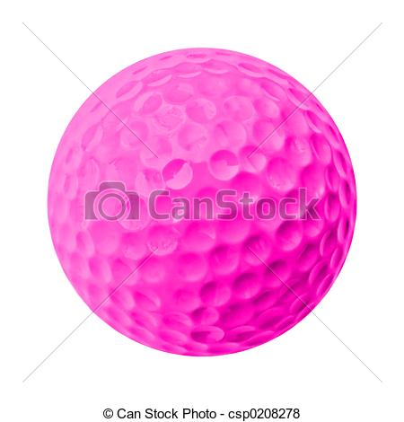 Golf Ball clipart colored Of  golf ball Search