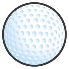 Golf Ball clipart colored Pictures Golf ball golf Clipart