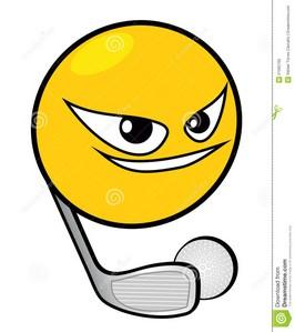 Golf Ball clipart fierce Clip golf Golf web funny