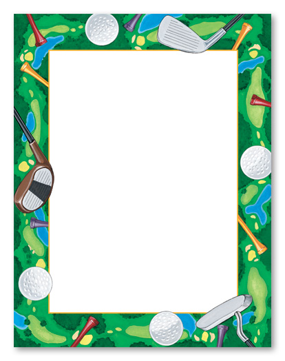 Golf Ball clipart frame Clipart Ball Collection On
