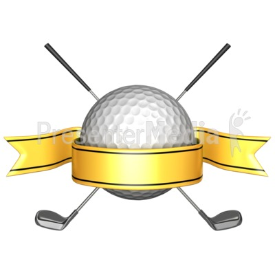 Golf Course clipart golfing picture Club Crossed Crossed Crossed Clipart