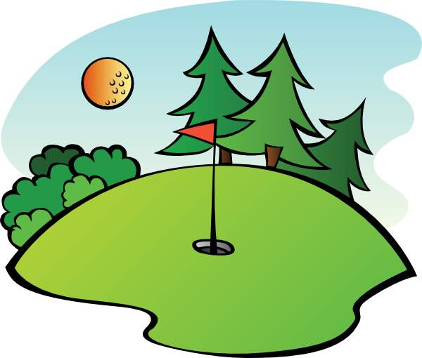 Golf Course clipart golf stick Clipart Vector Clip ClipartFan Course