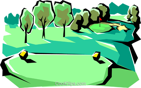 Golf Course clipart #15