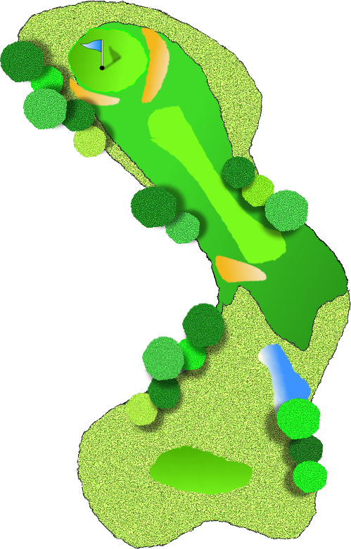Golf Course clipart #13