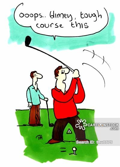 Golf Course clipart funny golf Cartoons Golfer pictures Golfer Comics