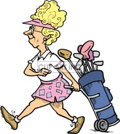 Golf Course clipart funny golf Pin Clipart clip clubs Royalty