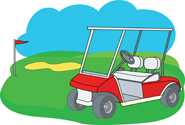 Golf Course clipart golf buggy Golf cart Results golf Clipart