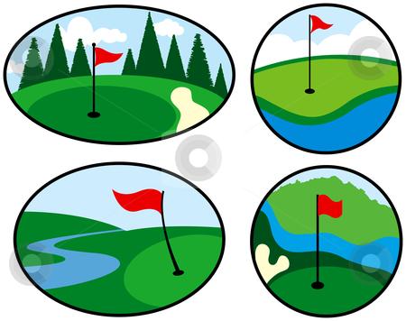 Flag clipart mini golf Panda Art Free golf%20green%20clip%20art Golf