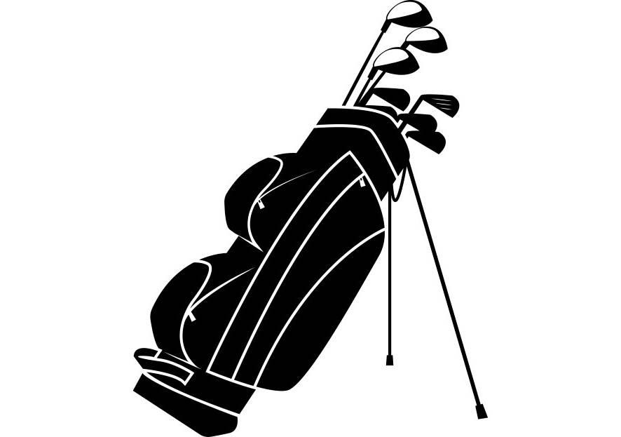 Golf Course clipart golfer Digital Club PNG Bag Etsy