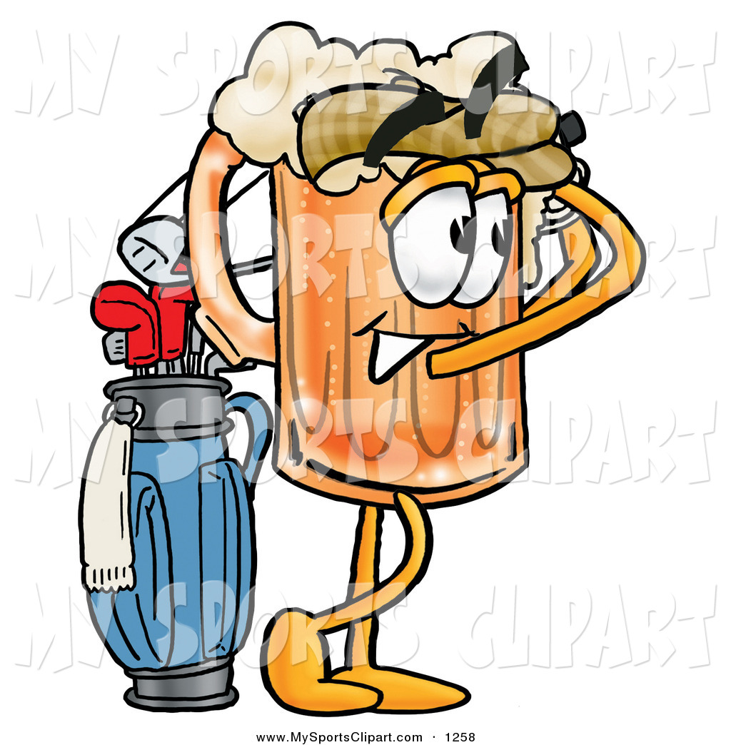 Golf Course clipart golfer Sports His Free Clip Character