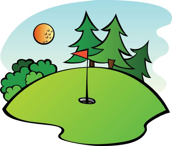 Golf Course clipart golfer Search clipart results golf pictures