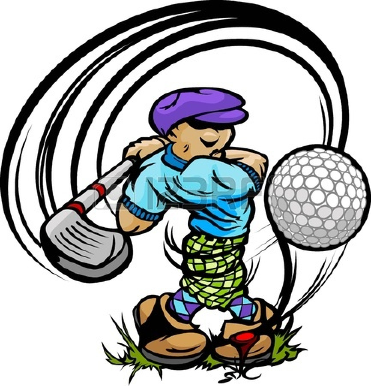 Golf Ball clipart junior golf Ball On golf Junior collection