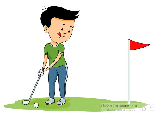Golf Course clipart golfing picture Free putting Clipart clipart Sports