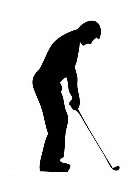 Golf Course clipart male golfer Golf net Clipart People Player