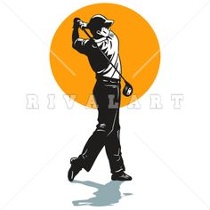 Golf Course clipart male golfer Sports Woman Image of Golfer