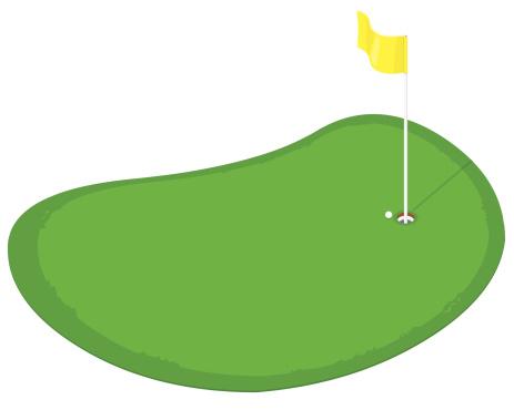 Golf Course clipart putting green Green Putting Clipart Clipart Green