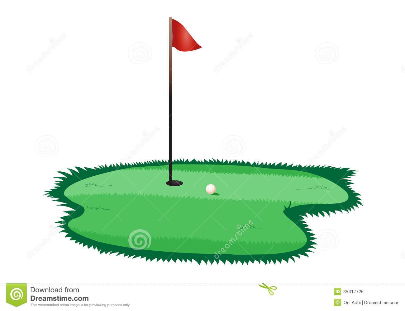 Golf Course clipart putting green Green Golf Clipart Clipart Green
