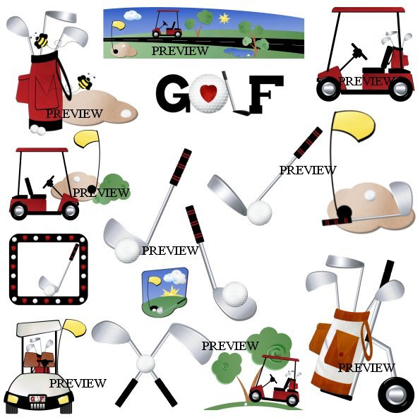 Golf Course clipart retirement Clipart day candy golf wrappers