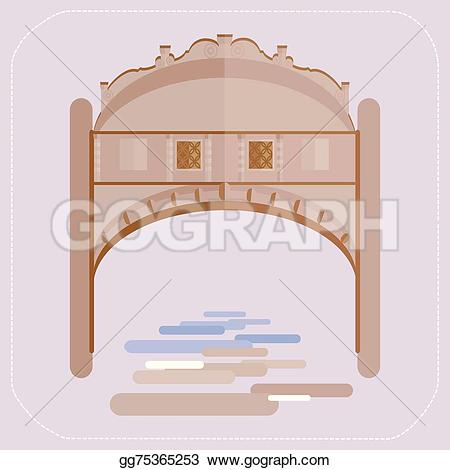 Gondola clipart gondolier A gondola Illustration gg75365253 bridge
