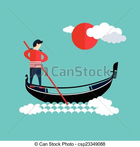 Gondola clipart gondolier Gondola gondolier Search Clip gondolier