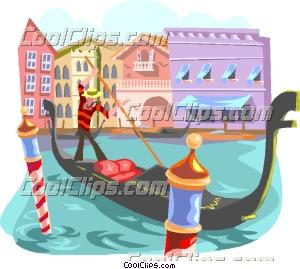 Gondola clipart venice Clip Art  gondola Venice
