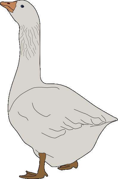 Goose clipart Download Clip vector online art
