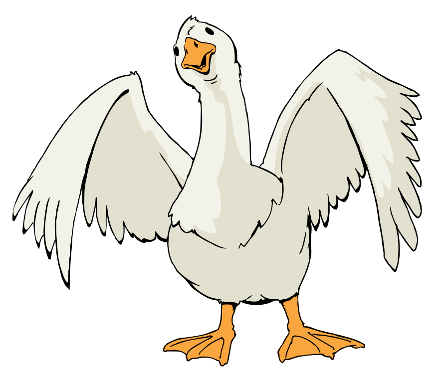 Goose clipart Goose Goose 78 Top Clipart