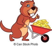 Gopher clipart Gopher Gold Design of Vector