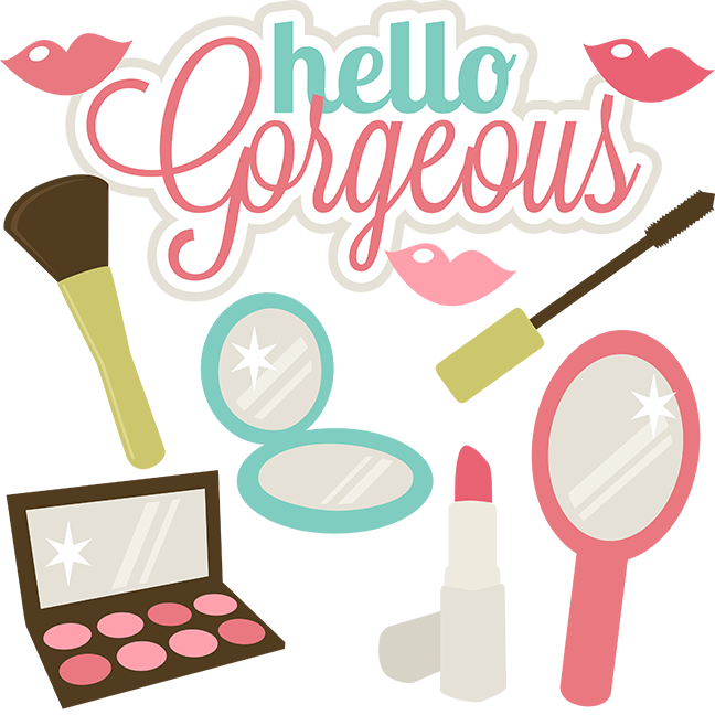 Gorgeus clipart cartoon woman SVG Gorgeous SVG for Hello