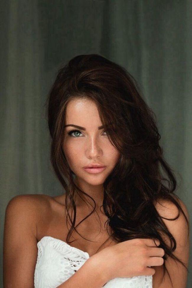 Gorgeus clipart dark hair Brown JESIENI: 25+ Best HIT