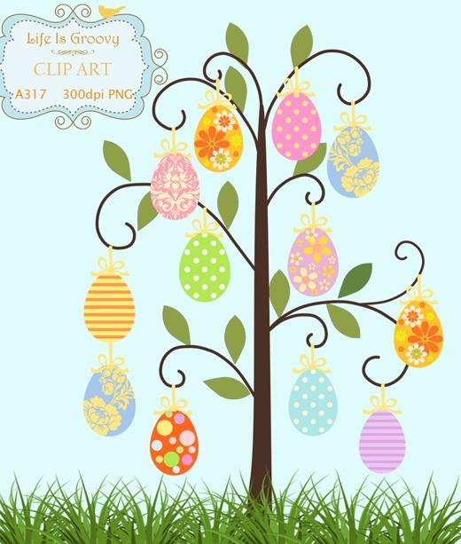 Gorgeus clipart easter egg tree Download easter egg lovely egg