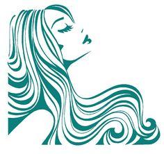 Hair clipart flowing hair Clipart Hair Flowing cliparts Flowing