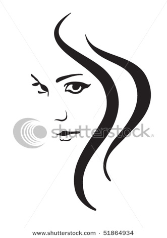 Gorgeus clipart hair and beauty Face Beautiful Picture in This