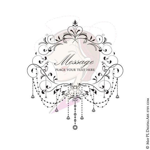 Chandelier clipart vintage frame About Chandelier Vintage Elegant Chandeliers