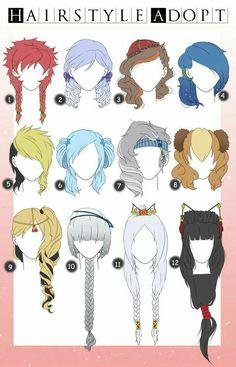 Gorgeus clipart wild hair How 2015 Cute Girls Manga/