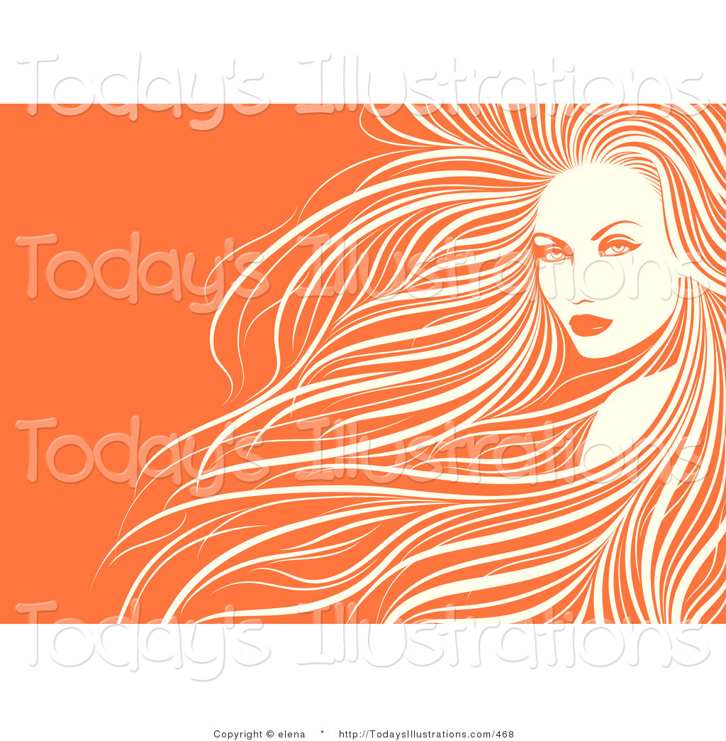 Gorgeus clipart women's hair With Person Hair Face Woman