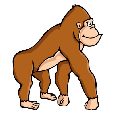 Gorilla clipart Gorilla gorilla clipart #8 Clipart