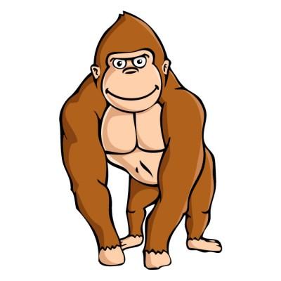 Gorilla clipart Clipart gorilla%20clipart%20 Panda Clipart Free