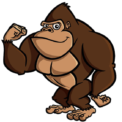 Banana clipart gorilla Clip Monkeys Brown Pictures Images