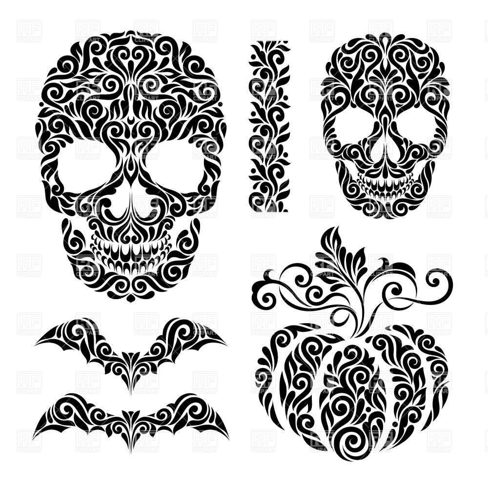 Aztec clipart black and white #2