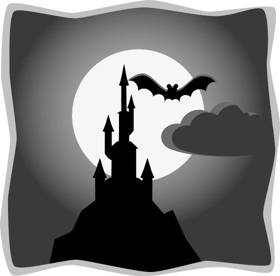 Gothc clipart Photos clipart gothic Scary theme