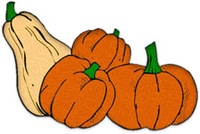 Gourd clipart veggie patch Graphics Clipart pumpkins gourds Free