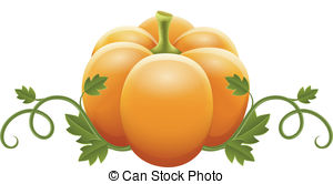 Gourd clipart orange pumpkin  Stock 6 154) illustrations