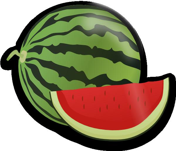 Gourd clipart animated Grapes & Fruit Watermelon Kiwis