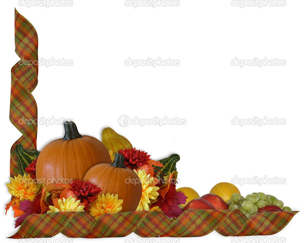 Gourd clipart autumn pumpkin Free Border Clipart Fall Clipart