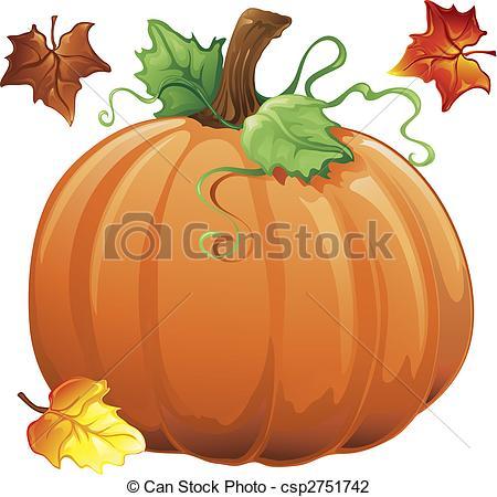 Gourd clipart autumn pumpkin A fall pumpkin of of