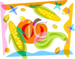 Gourd clipart corn #3