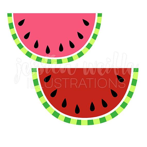 Gourd clipart cute Clip Watermelon Digital Watermelon Cute
