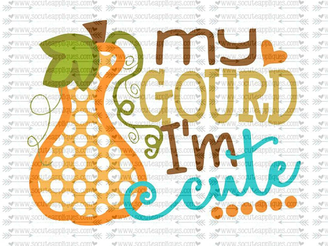 Gourd clipart cute This svg file  digital